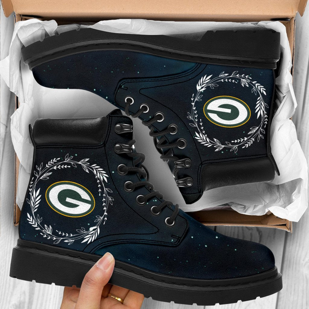 Colorful Green Bay Packers Boots All Season