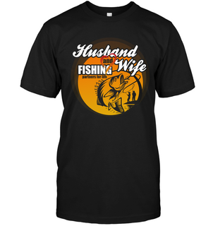 Husband And Wife Fishing Partners For Life T Shirts