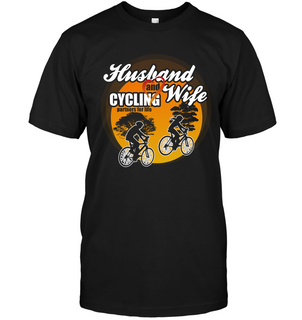 Husband And Wife Cycling Partners For Life T Shirts