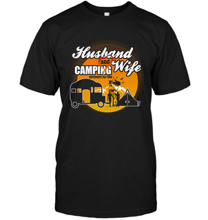 Husband And Wife Camping Partners For Life T Shirts