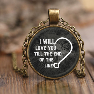 Love You Till The End Of The Line Necklaces
