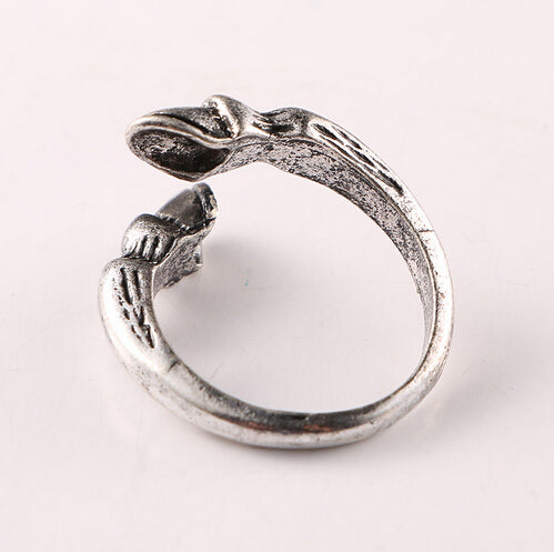 Quality Fashion Vintage Horseshoe Resizable Ring