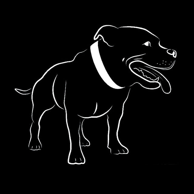 Cute Staffordshire Bull Terrier Dog Stickers
