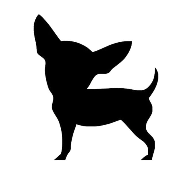 Cute Chihuahua Dog Stickers