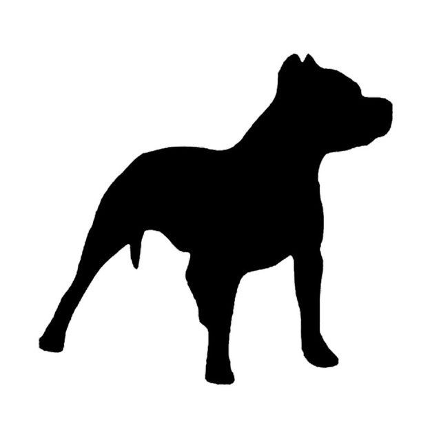 Pit bull Dog Stickers
