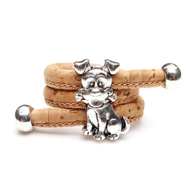 Cute Irish Terrier Dog Rings