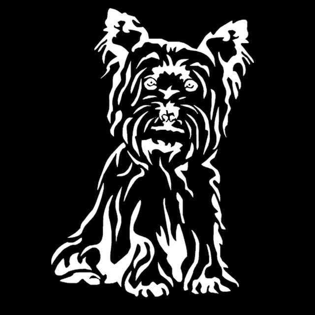 Yorkshire Terrier Dog Stickers