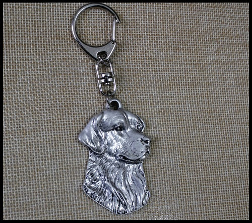 Golden Retriever Dog Keychains