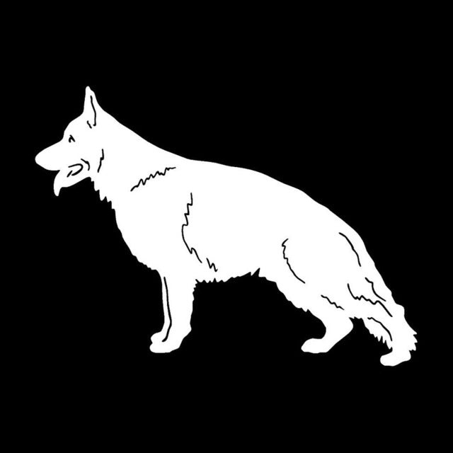 German Shepherd Dog Stickers