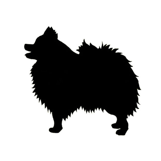 Adorable Pomeranian Dog Stickers