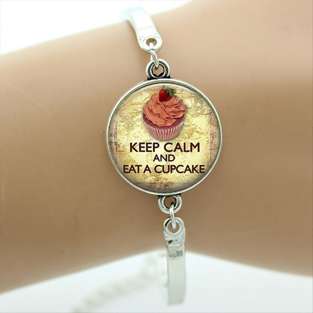 Keep Calm And Love Cats Bracelets