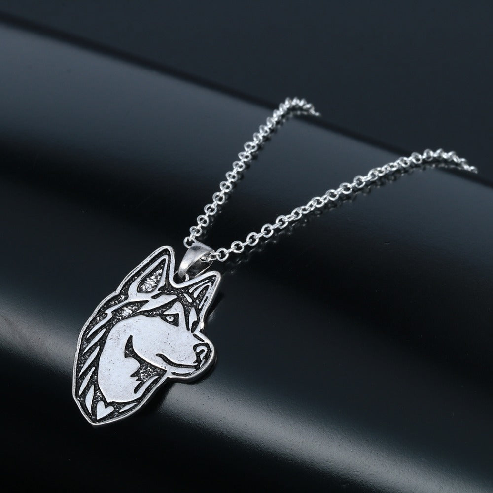 Siberian Husky Dog Lovers Necklaces