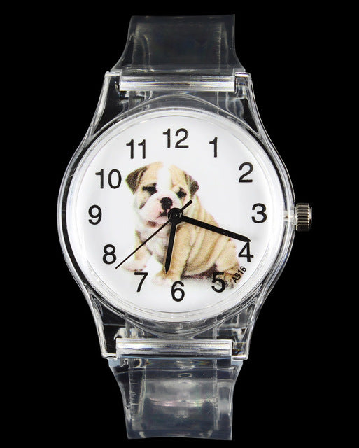 Pug Beagle Saint Bernard Papillon Golden Retriever Terrier Bulldog Kid Watches