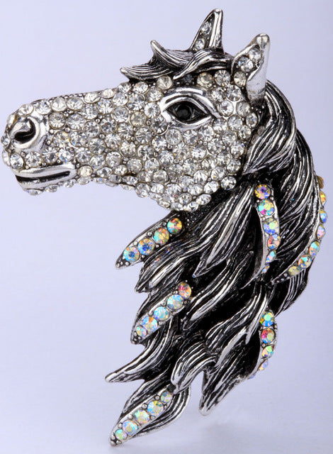 Horse Stretch Ring For Women