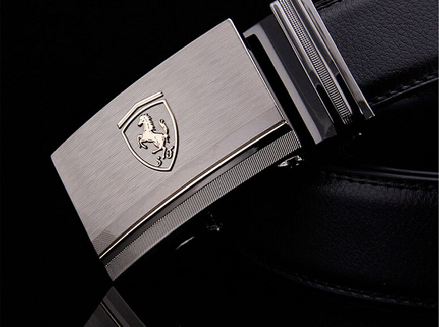 Car Logo Horse Belts