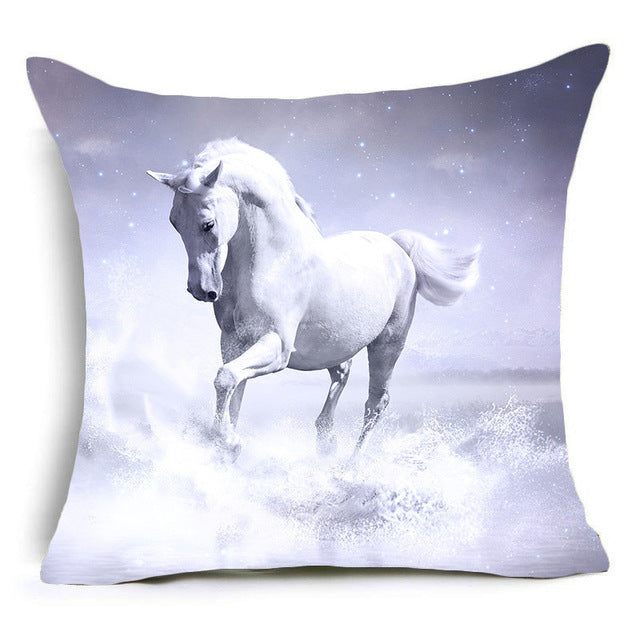 Vintage Horse Pillow Covers