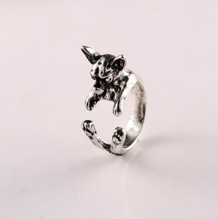 Vintage Chihuahua Dog Rings