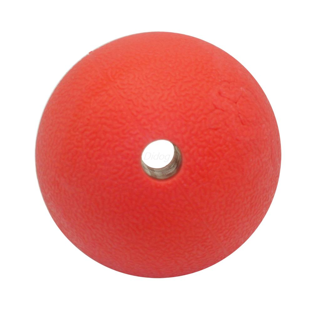 Red Rubber Dog Ball Interactive Toys