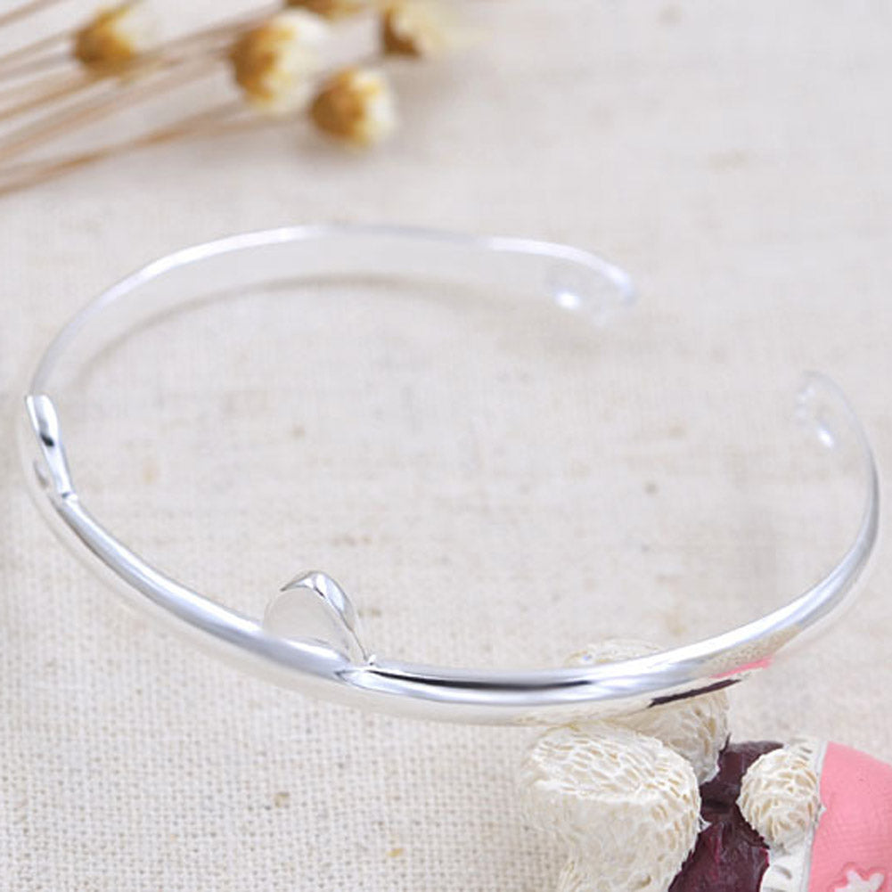 Silver Cute Cat Ear Bracelets