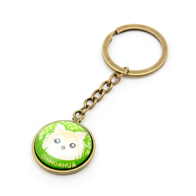 Cute Dog Keychains
