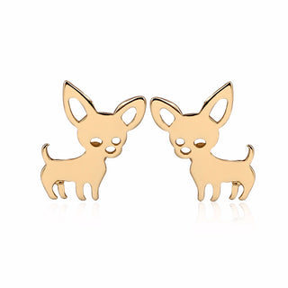 Chihuahua Cute Dog Earrings