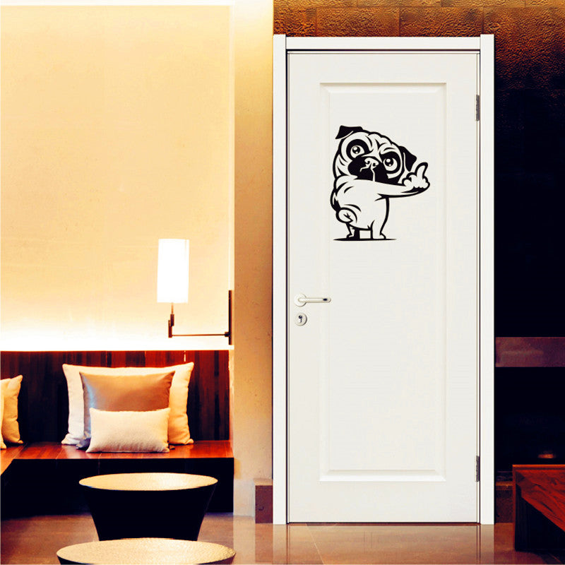 Pug Dog Wall Stickers