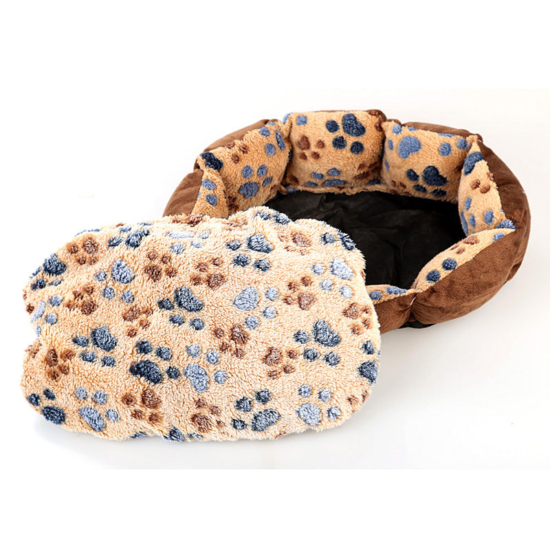 Soft Dog Paw For Winter Beds And Mats