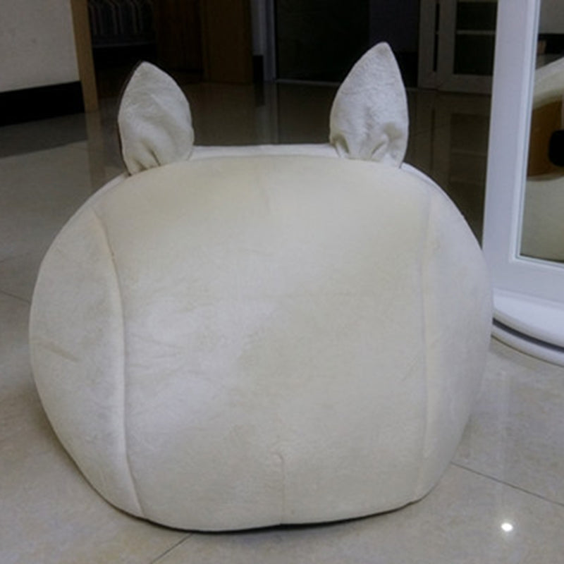 Head Shaped Soft Warm Winter Dog House Beds And Mats