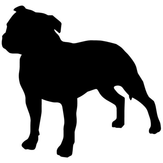Lovely Staffordshire Bull Terrier Dog Stickers