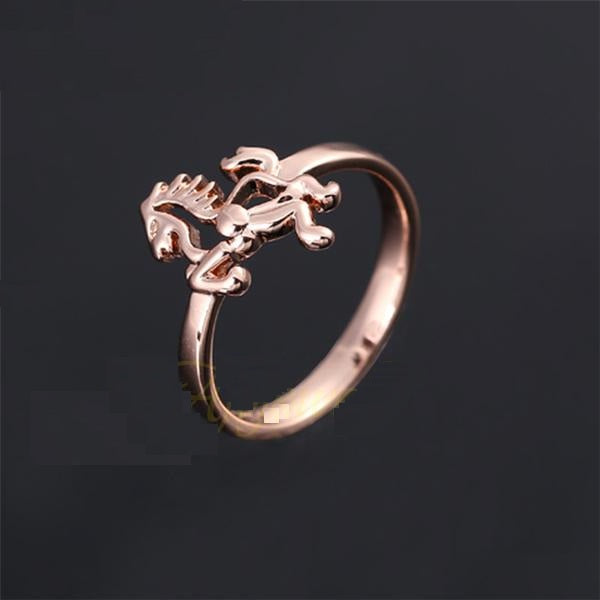 Cute Animal Jewelry Woman Horse Rings