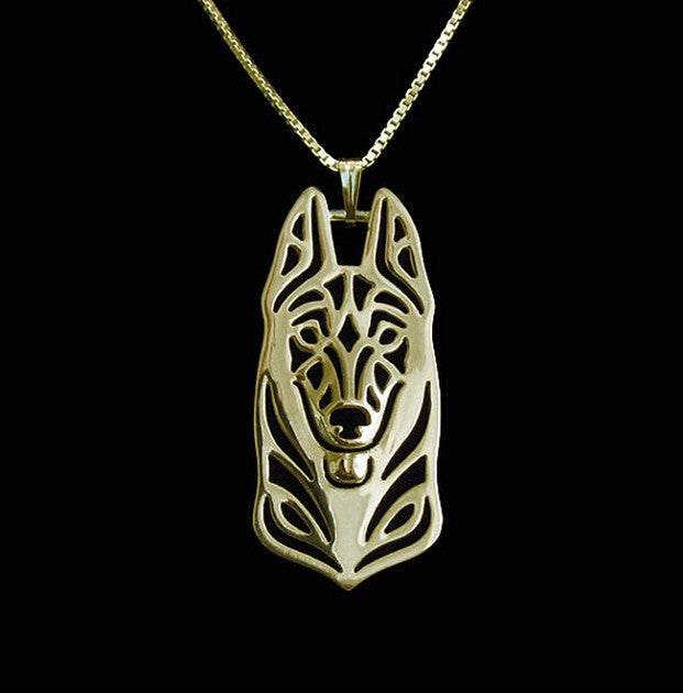 Fashion Belgian Malinois Necklace