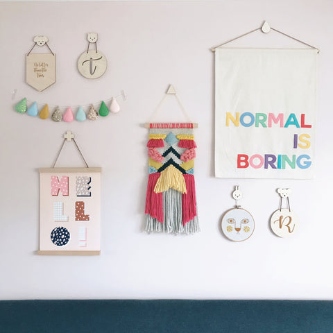 Wall Names and Hooks