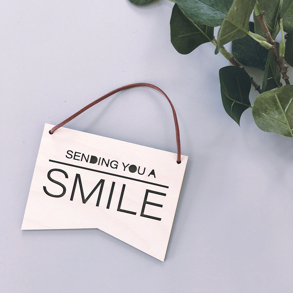 Sending You a Smile Plaque