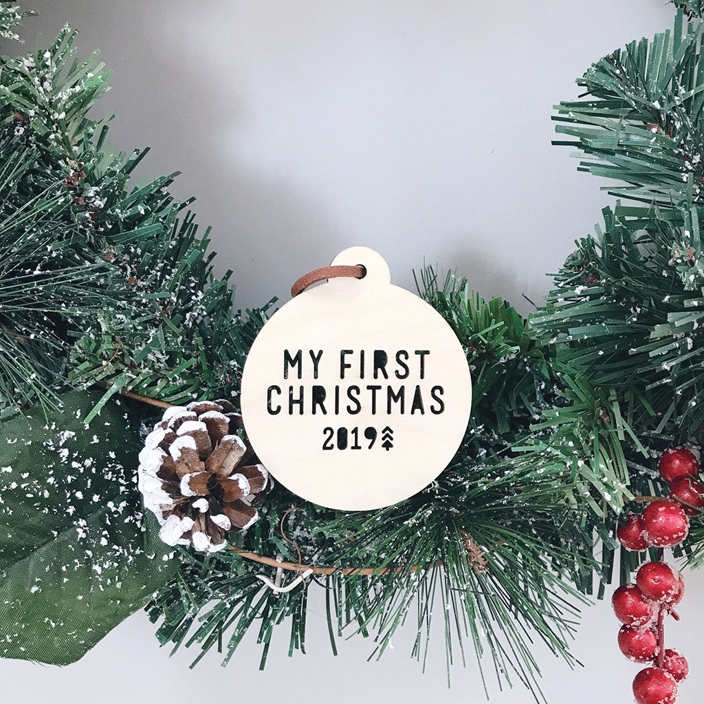 My First Christmas Bauble 2019