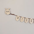Set of 4 Festive Wall Hanging Hooks