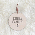 Family Festive Plaque