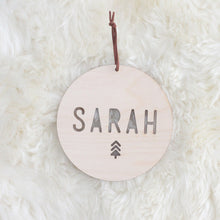 Christmas Name Plaque