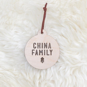 Christmas Family Bauble