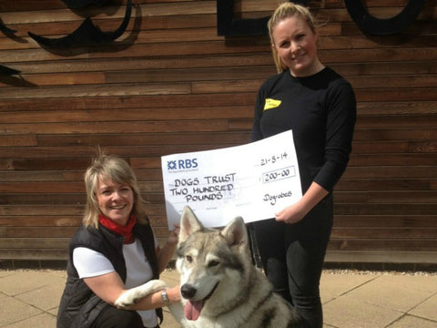 Dogrobes Donation To Dogs Trust