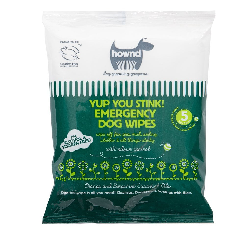 HOWND Yup You Stink! Emergency Dog Wipes