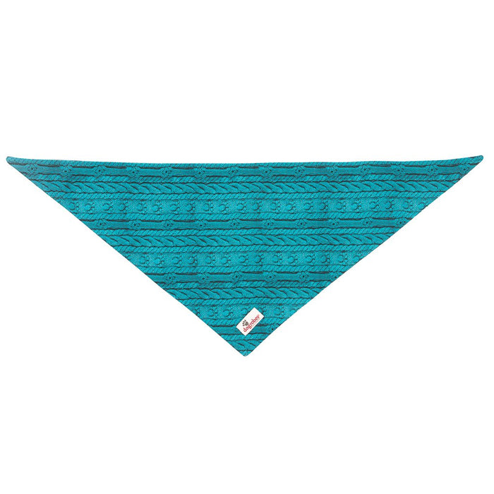 Tie On Bandana Knit