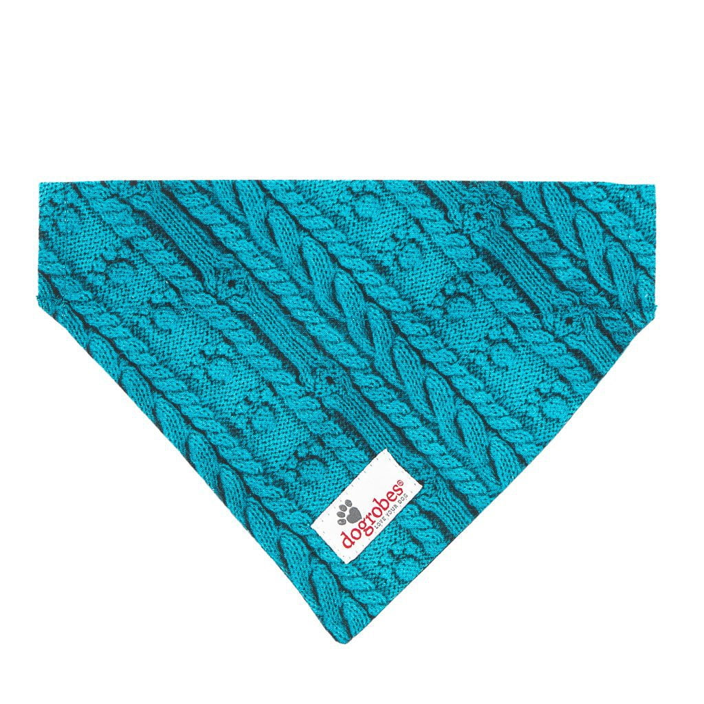 Collar Bandana Knit