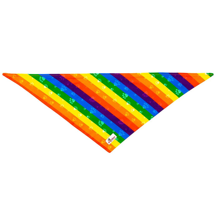 Tie On Bandana Rainbow