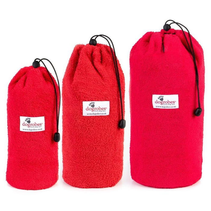 Size 1 Size 2 Size 3 Red Drawstring Bags