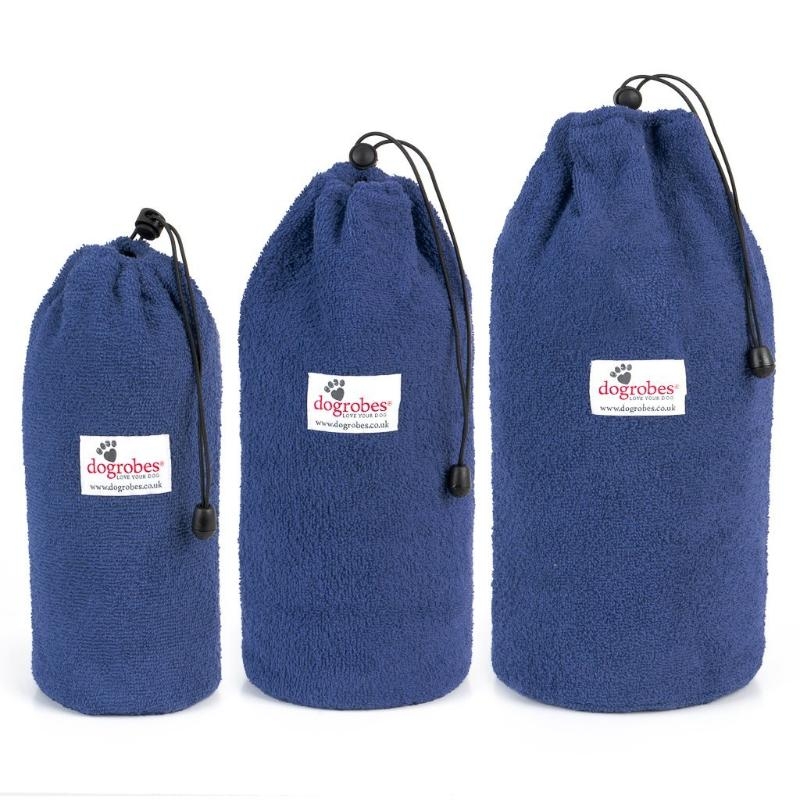 Size 1 Size 2 Size 3 Navy Drawstring Bags
