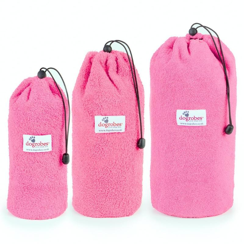 Size 1 Size 2 Size 3 Pink Drawstring Bags