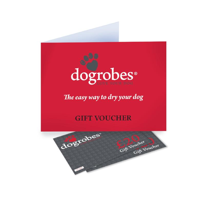 Gift voucher dogrobes red card holder and gift voucher inserts negle Images