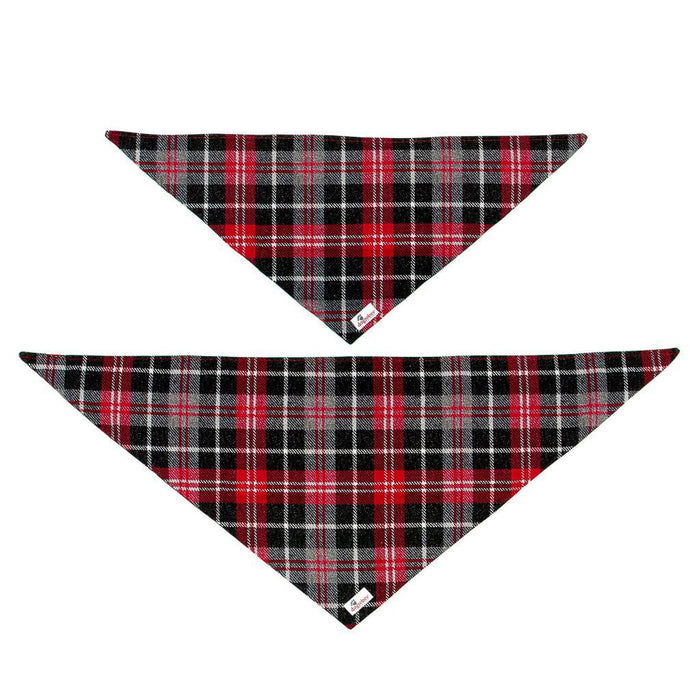 Tie On Tartan Bandana Small to Medium and Medium to Large