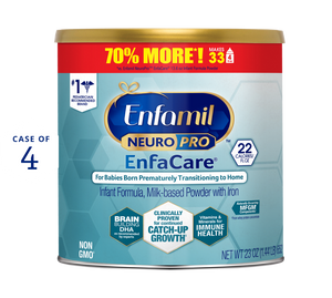 enfamil neuropro enfacare formula 23 oz Can (Case of 4)
