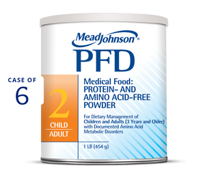 pfd 2 metabolic powder 1 lb Can (Case of 6)